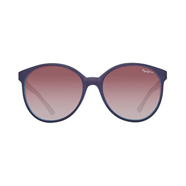 Pepe Jeans PJ7297C356 Occhiali da sole, Blu (Blue), 56.0 Donna