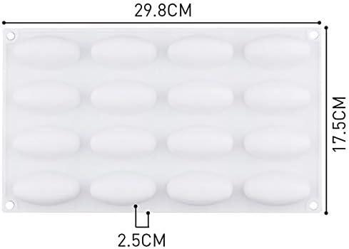IDEA PJ6237 Molde de silicona con forma de balón de fútbol de 16 ...