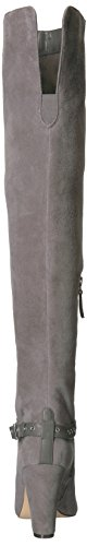 High Knee Suede Boot Sandor Grey Dark West Women's Nine xqpHzwIUn
