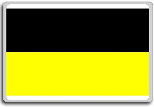 Germany, Aachen city flag fridge magnet