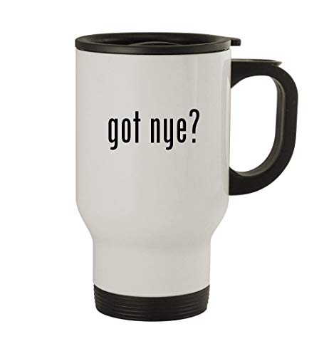 (got nye? - 14oz Sturdy Stainless Steel Travel Mug,)