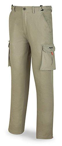 Marca 588-PELASTK3840 Pantalon elastico talla 38-40 caqui