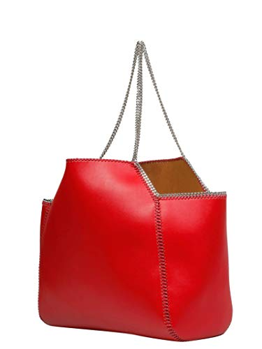 Rouge Main Sac Stella 541672w83946568 Femme Mccartney Cuir À 6nxCqSAfw