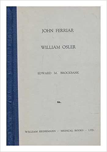 john ferriar public health work  tristram shandy  other essays  john ferriar public health work  tristram shandy  other essays and  verses  william osler  his interest in ferriar biographical notes e m  brockbank