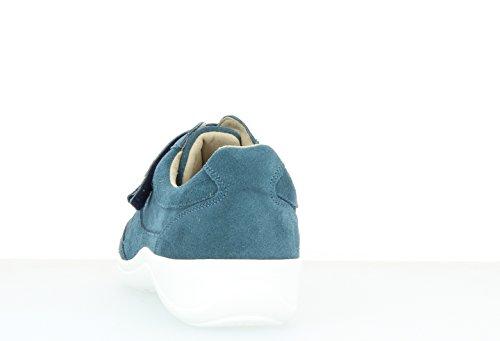 Azul mujer Varomed azul Piel para de Mocasines 6x0qPB