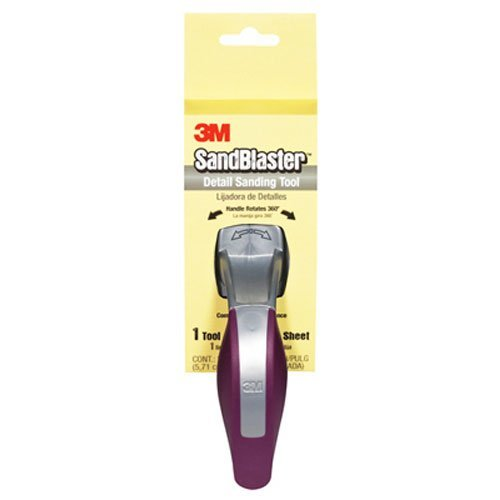 - 3M Pre-Loaded Detail Sander, 2.24-Inch by 4.5-Inch