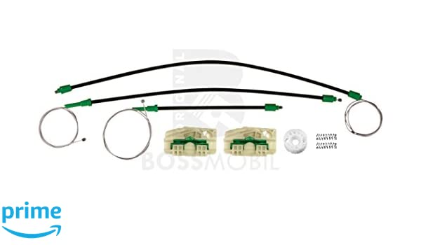 Trasero izquierdo kit de reparaci/ón de elevalunas el/éctricos 1P1 Bossmobil Leon
