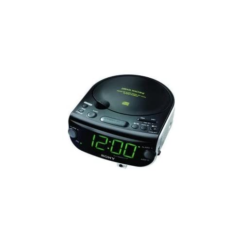 Image of Sony ICF-CD815 AM/FM Stereo CD Clock Radio with Dual Alarm (Discontinued by Manufacturer) Clock Radios