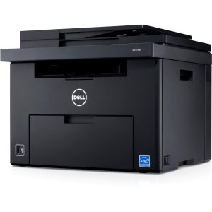 Dell C1765NW LED Printer - Color - 1200 dpi Print - Plain Paper Print - Desktop C1760NW CLR LASER 15/12PPM WL SFP 15 ppm Mono / 12 ppm Color Print - 160 sheets Input - Manual Duplex Print - LCD - Fast Ethernet - Wi-Fi - USB