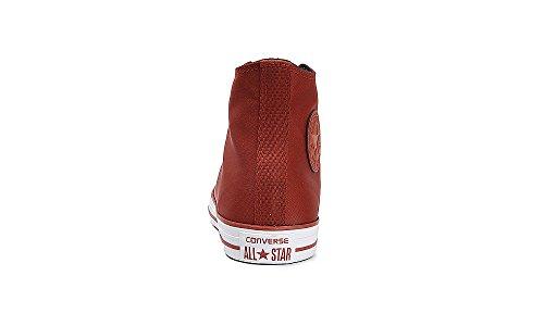 Converse Baskets Pour Homme Blanc Rouge