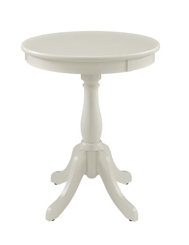 Price comparison product image Powell Furniture Round Accent Table, White