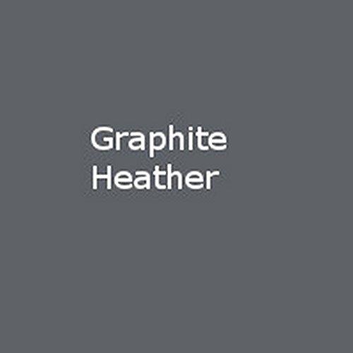 Gildan Heavy Blend Unisex Adult Full Zip Hooded Sweatshirt Top (L) (Graphite Heather) ()