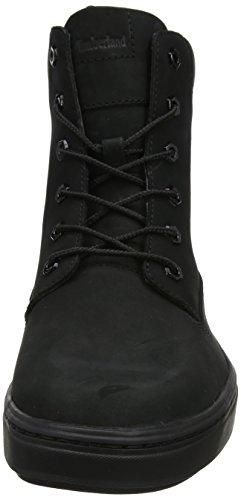 Timberland 6 Inch Dames Londen Laarzen, Geel Zwart (blackout Nubuck 001)