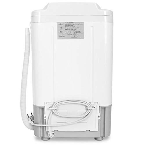 oneConcept Mini lavadora portatil blanco: Amazon.es: Hogar