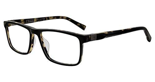 John Varvatos Eyeglasses V404 V/404 Black/Tortoise Full Rim Optical Frame 56mm