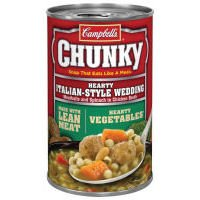 Campbell#039s Chunky Hearty Italian Style Wedding Soup 188 oz Pack of 12