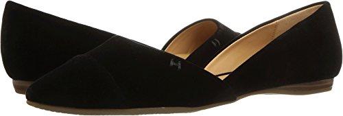 Tommy Hilfiger Women's Narcee Ballet Flat, Black Velvet, 8 M (Velvet Ballerina Women Flat Shoes)