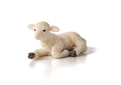 - MOJO Lamb Lying Down Toy Figure