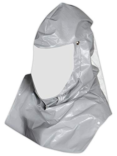 """Honeywell PA121 North by Hood Assembly with Bib for Compact Air Primair Plus 100 Series PAPR System, Plastic, 1"""" x 1"""" x 1"""""""
