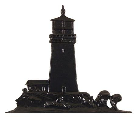 [Whitehall Products Lighthouse Weathervane, 30-Inch, Rooftop Black] (Lighthouse Weathervane Rooftop Color)