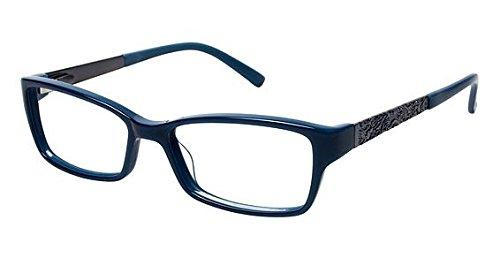 Nicole Miller Forsyth Eyeglass Frames - Frame TEAL