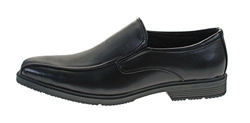 Gummizug Halbschuhe Anzugschuhe Herren 40 Business Slipper Magnus 46 Schuhe Gr Schwarz BqxYw6ntI