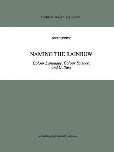 Naming the Rainbow: Colour Language, Colour Science, and Culture (Synthese Library) by D Dedrick