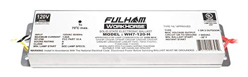 Fulham Lighting Fulham Workhorse Adaptable Ballast, WH7-120-H ()