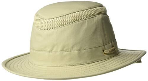 (Tilley Endurables LTM5 Airflo Unisex Hat Khaki Olive, 7 1/8)