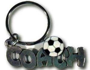 Soccer Coach Keychain