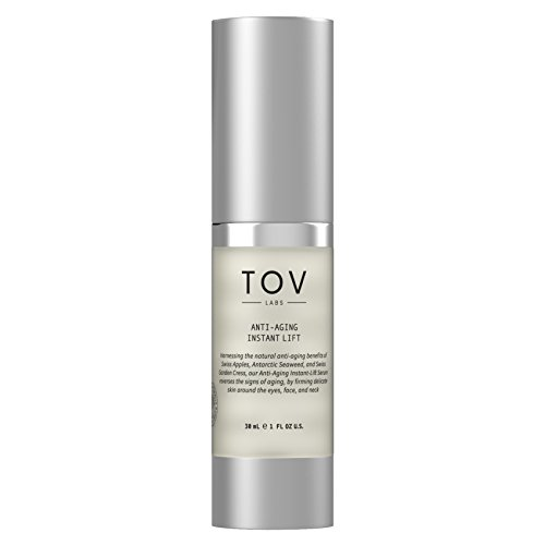 TOV LABS Anti Aging Instant Lift Serum for Face, Eyes, and Neck (30mL) Vegan