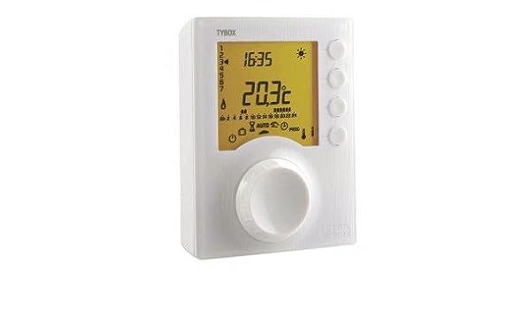 Delta dore - Termostato - Termostato TYBOX 227 230V - : 6053009: Amazon.es: Bricolaje y herramientas