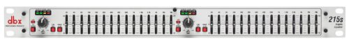 dbx 215s Dual Channel 15-Band Graphic Equalizer by DBX