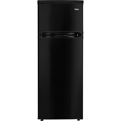 Danby DPF073C1BDB 7.3 cu. ft. Two Door Refrigerator, Black