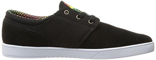 Emerica , Chaussures de skateboard pour homme Noir Black/Yellow/Black
