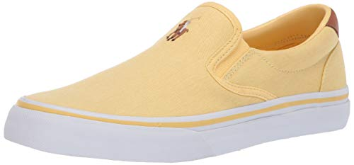Polo Ralph Lauren Men's Thompson Sneaker, Yellow, 12 for sale  Delivered anywhere in USA