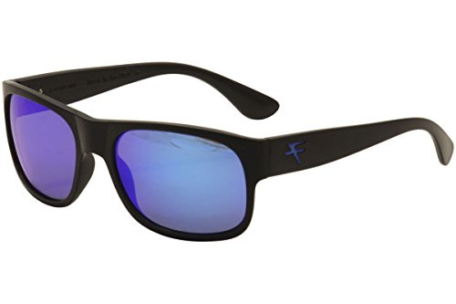 Fatheadz Eyewear Men's the Don V2.0 Polarized Round Sunglasses, Black, 40 - Sunglasses Don