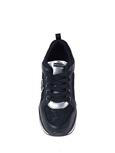 Fl5jar Mujeres Guess Negro Zapatos Lac12 d4BBH