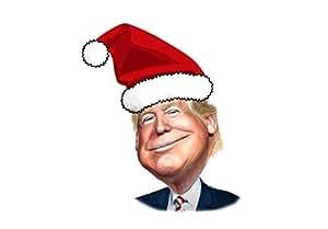 30x30 Inch Sheet Donald Trump Santa Hat Wrapping Paper