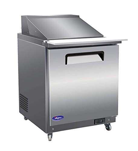 VALPRO VP29SM 29″ MEGA-TOP SANDWICH/SALAD FOOD PREP TABLE REFRIGERATOR