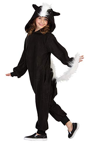 RG Costumes 40302 Funsies' Skunk, Child Small/Size 4-6, Black/White -