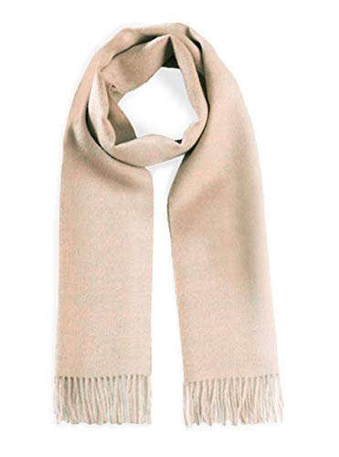 Luxury 100% Pure Baby Alpaca Wool Scarf for Men & Women - A Great Gift Idea in Many Colors (Coral Reef) ()