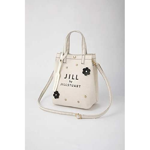JILL by JILLSTUART 2WAY FLOWER SHOULDER BAG BOOK WHITE 付録