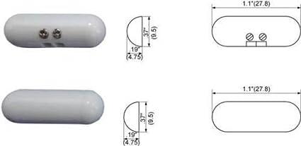 Amazon.com : TANE ALARM TANE-PILL-TC-WH Surface mount Pill ...