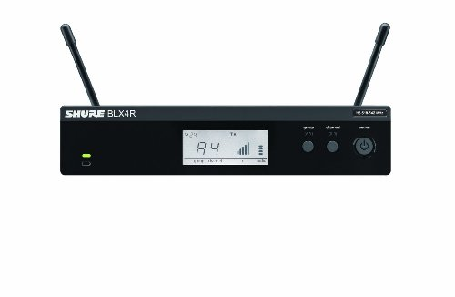 Shure BLX4R Single Channel Receiver, Rack Mount, H10