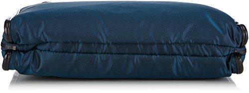 Mandarina Duck BLAB TRACOLLA NERO 142FJT01 Damen Henkeltaschen 8x32x40 cm (B x H x T) Blau (Blue) wfP0F4b