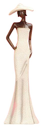 StealStreet SS-UG-KTA-003, 15.5 Inch Out in the Sun Lady with Hat Posing Decorative Figure 15.5