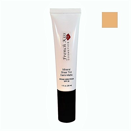 French Kiss Mineral Sheer Tint Demi-Matte SPF20 Cameo 1oz. - Cameo Kiss