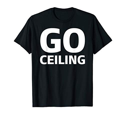 (Go Ceiling Fan Funny Simple Halloween Costume T-Shirt)