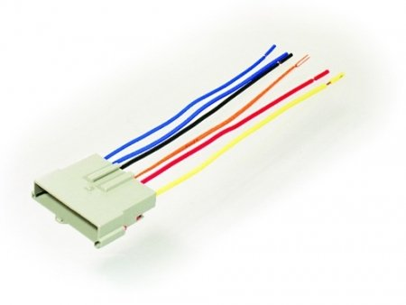 Scosche Radio Wiring Harness for Ford Power Connector